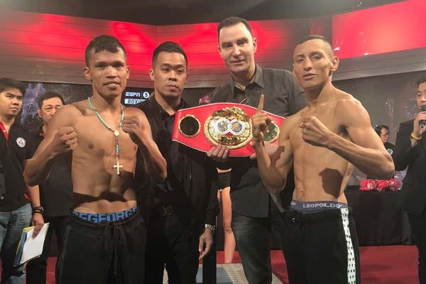 Alvarado Petalcorin Weigh In