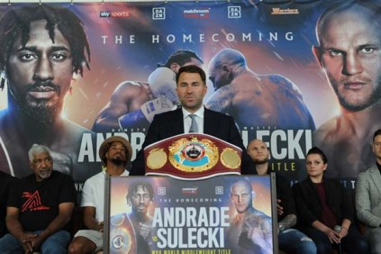Andrade And Sulecki Face Off