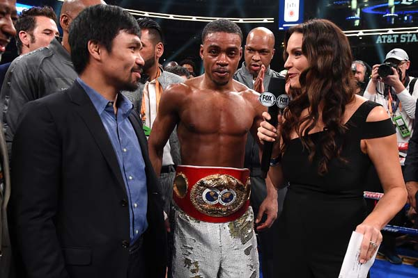 Pacquiao accepts Spence's challenge for unification bout