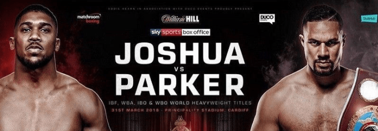 Image result for joshua vs parker