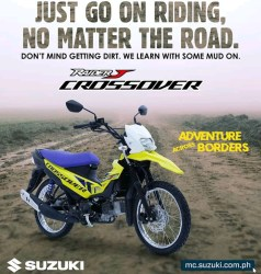 Suzuki Raider J Crossover Bebek Trail dari Philippina
