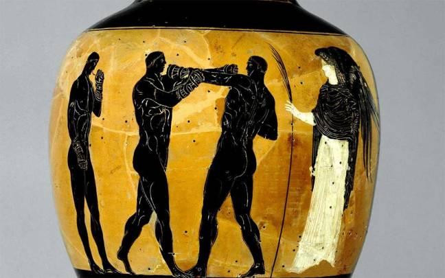 Panathenaic amphora; prize/trophy