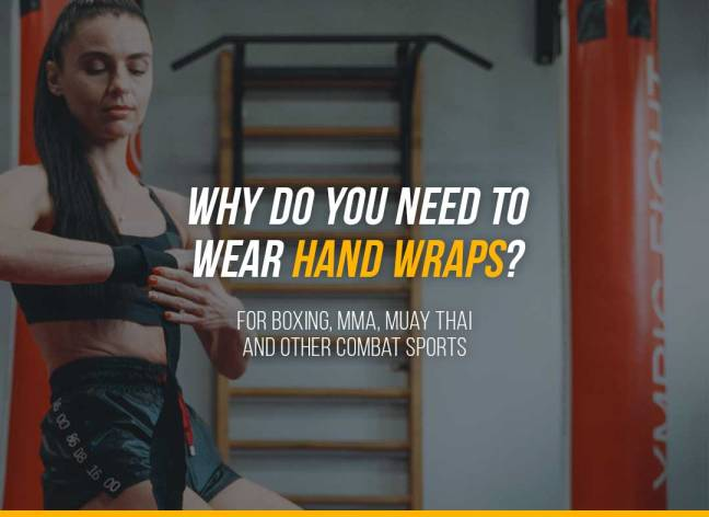 Why do you need to wear hand wraps for Boxing, MMA, Muay Thai and other combat sports?