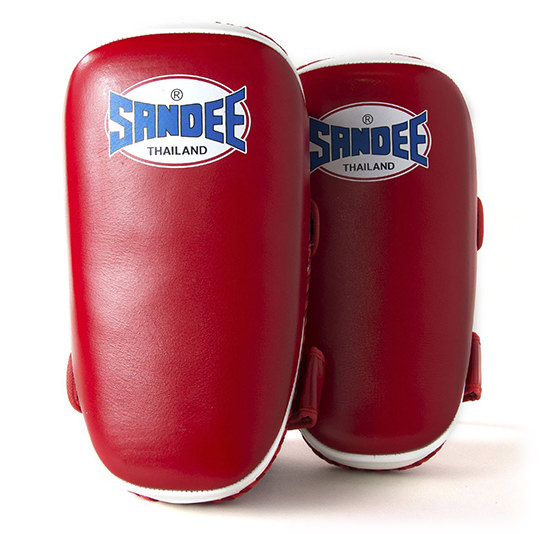 Sandee Curved Thai Leather Kick Pads Review