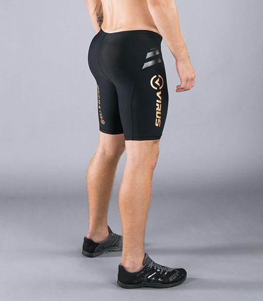 VIRUS Men's Energy Series Bioceramic Compression V2 Tech Shorts - Recovery + Endurance (Au11) Review