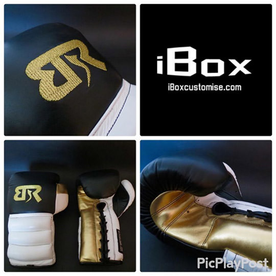 iBox Customise Laced with Ridges Custom Boxing Gloves (16oz MID Padding) Review