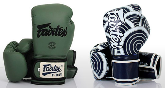 Five High Quality Non-Leather/Vegan Boxing Gloves