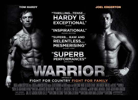 Fight Quality Film Review - Warrior (2011)
