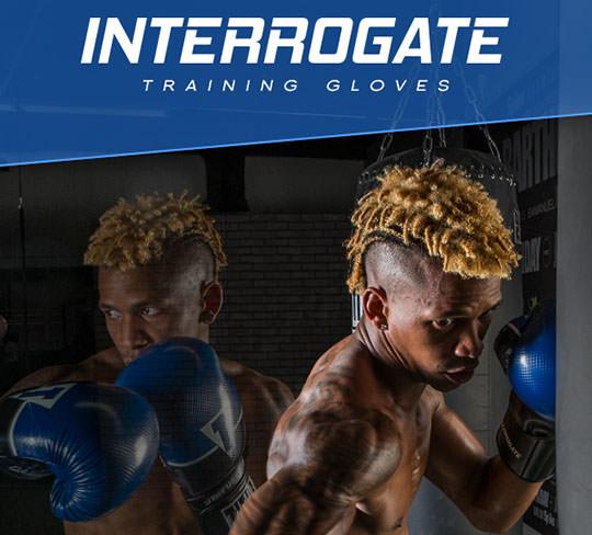 Title Infused Foam Interrogate Boxing Gloves
