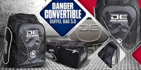 Danger Convertible Duffel Bag 5.0