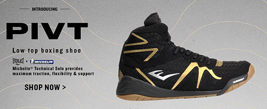 New Everlast PIVT Low Top Boxing Shoe