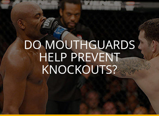 Do Mouthguards help prevent Knockouts in Boxing, MMA, Muay Thai and other combat sports?