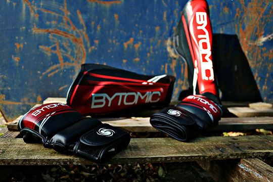 MMA Gloves, Focus Paddles & Shin Guards added to the Bytomic AXIS range