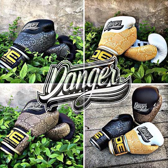 Danger Evolution Phyton Boxing Gloves