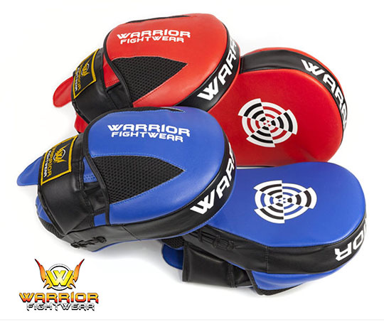 Warrior Fight Wear Curved Focus Pads