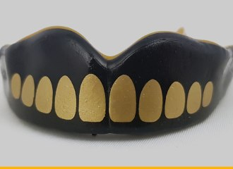 SAFEJAWZ Extro Series Self-fit 'Goldie' Mouthguard Review