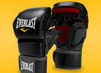 Everlast Striking Training MMA gloves review