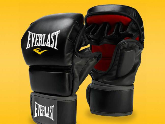 Everlast Striking Training MMA gloves review