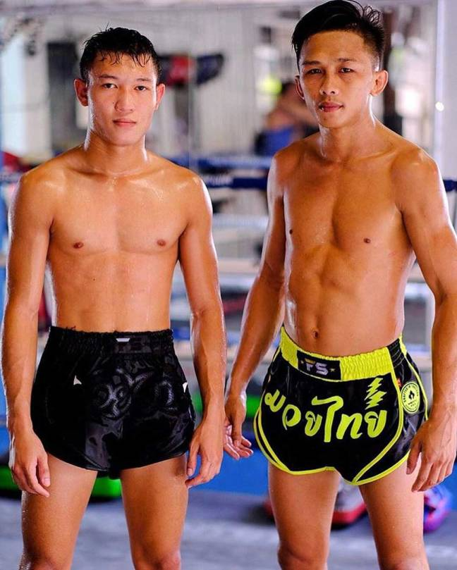 InFightStyle 'Uncut' Shorts