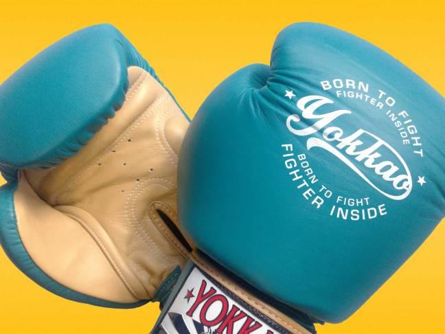 YOKKAO Vintage Muay Thai Boxing Gloves