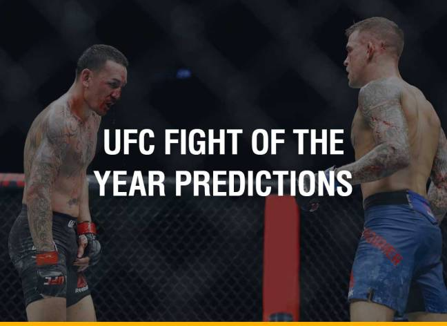 FQ's Early Predictions For The UFC Fight Of The Year