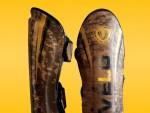 VELO Vintage Leather Shin Guards