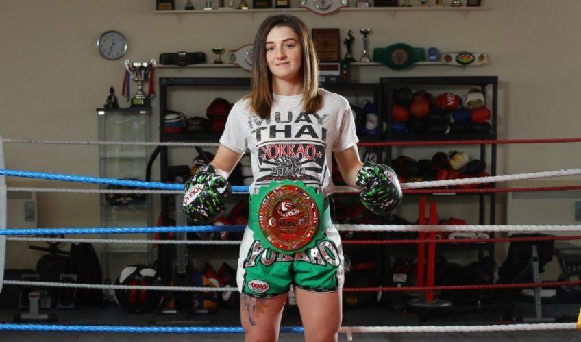 Amy Pirnie - Female Muay Thai fighter