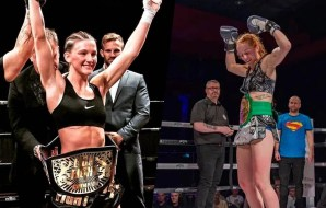 Amy Pirnie vs Dani Fall - Lion Fight