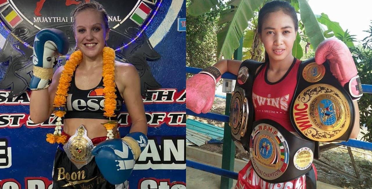 Judy Humber vs Nongbew - Muay Thai Super Champ