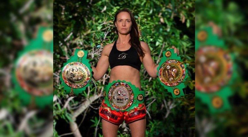 Ruth AShdown - WBC Muaythai World Champion