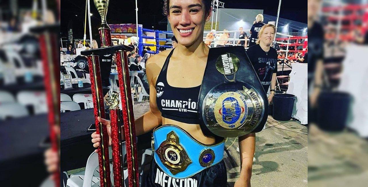 Victoria Sullivan - WMO Muay Thai Australian Champion