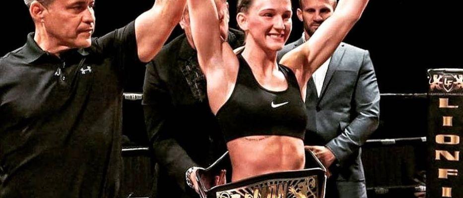 Amy Pirnie vs Lara Fernandez - Fight Fight 68 Glasgow