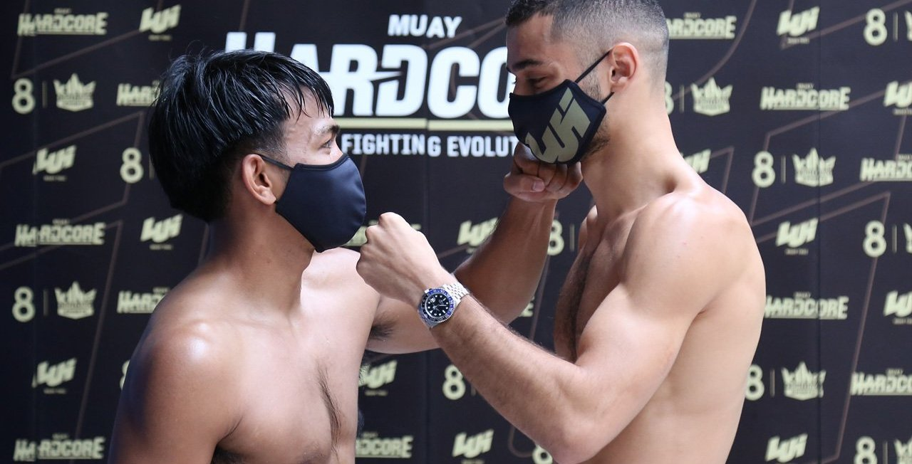 Muay Hardcore Weigh-In Results, Fight C