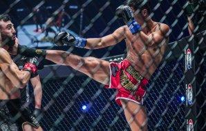 Superbon Head Kick Knockout on Petrosyan - ONE Championship