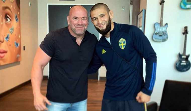 Хамзат Чимаев принес извинения главе UFC