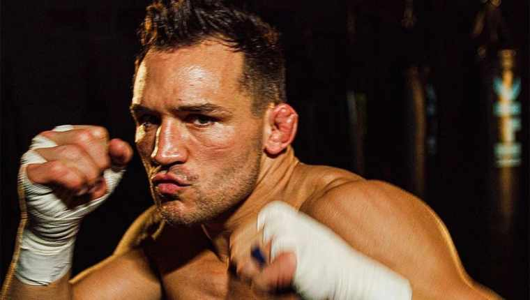 Michael Chandler began training for the fight