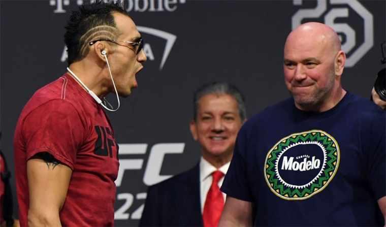 Tony Ferguson insists on a fight with Dustin Poirier