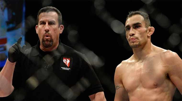 John McCarthy assessed the chances of Tony Ferguson in the fight against Beneil Dariush