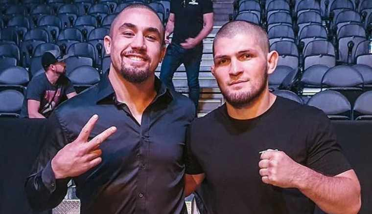 Robert Whittaker spoke about the fight with Khabib Nurmagomedov.