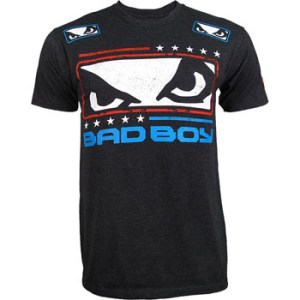 Chris Weidman Bad Boy UFC walkout shirt front