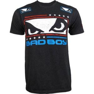 Chris Weidman Bad Boy UFC walkout shirt front