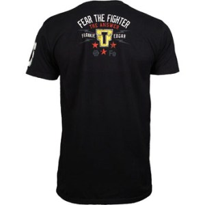 Frankie Edgar UFC 150 walkout shirt back