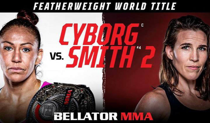 Bellator 259: Cyborg vs. Smith, main card battles, location, how to watch and time.