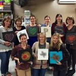 String Art, Ladies Art Night, Wee Warhols, Austin, TX