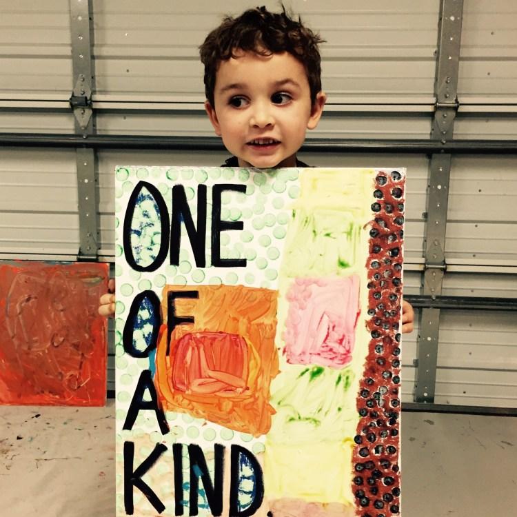 Wee Warhols, One Of A Kind, Austin, art class