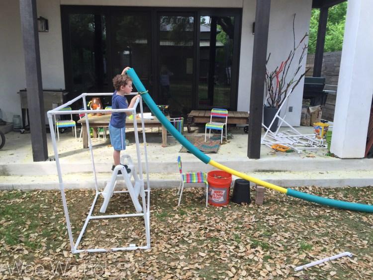 PVC, building, Wee Warhols, austin, engineering,