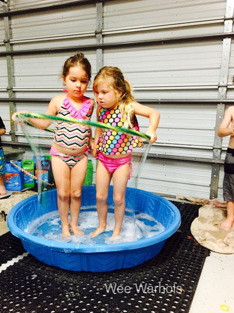 Wee Warhols, Human Bubble, summer camp, austin TX