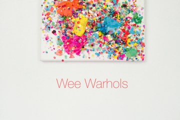 caserones, confetti eggs, action art, process art, Wee Warhols, art classes, Austin, TX