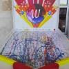 Wee Warhols, pinball, action art, austin, TX , maker faire
