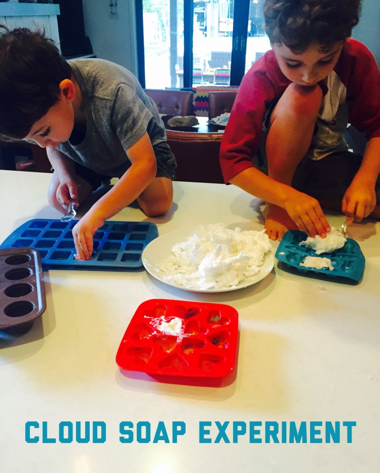 Cloud Soap Experiment, Wee Warhols, Ivory Soap, STEM, STEAM, Austin, science
